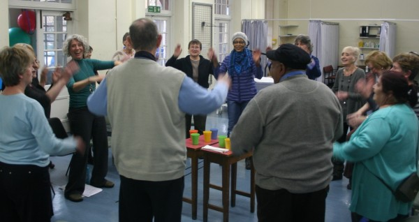 Sing For Your Lungs at the Whittington Hospital, London